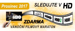 Vánoční filmový maraton s HBO