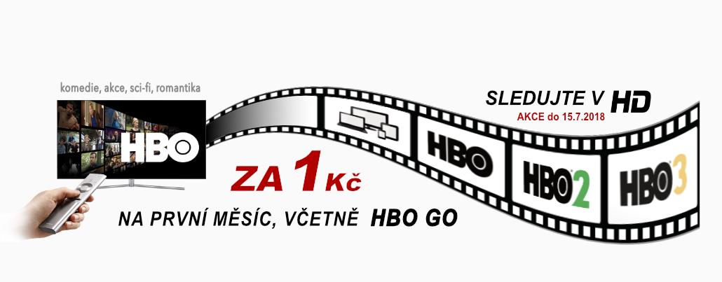 HBO + HBO GO za 1 Kč